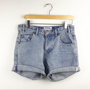 NEW One Teaspoon Romance Chargers Denim Shorts 26